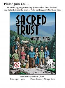 Sacred Trust Reading And Book Signing Rumney Village Store